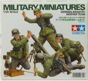 Tamiya 35193 German Infantry Mortar Team
